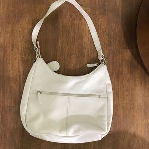 GB white purse